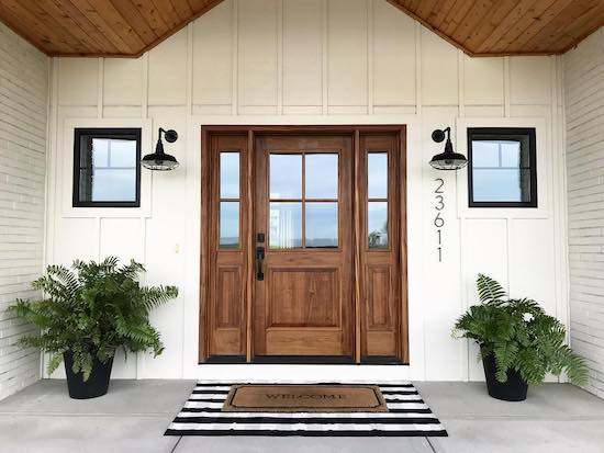 The Best Front Doors With Sidelights And Transoms