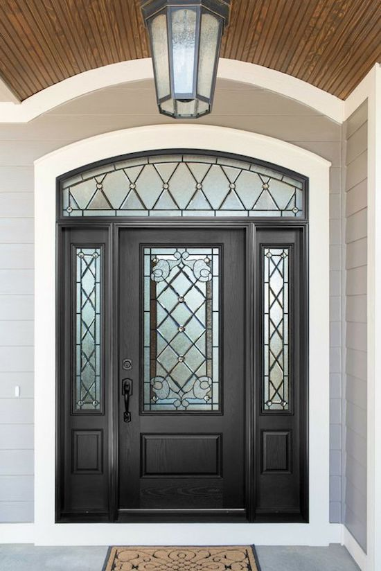 Front Doors With Sidelights And Transoms