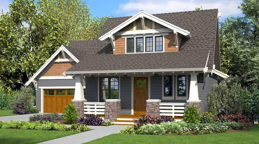 What Are Craftsman Style Entry Doors