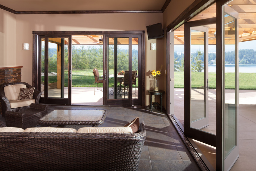 Great Outswing Folding Doors