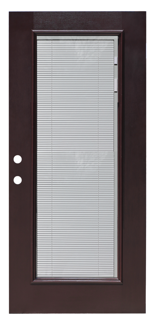 Patio Door With Built In Blinds