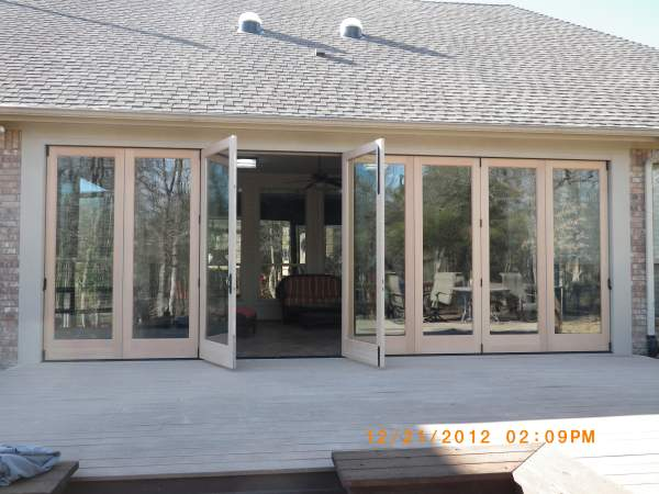 Weathertight Folding Doors