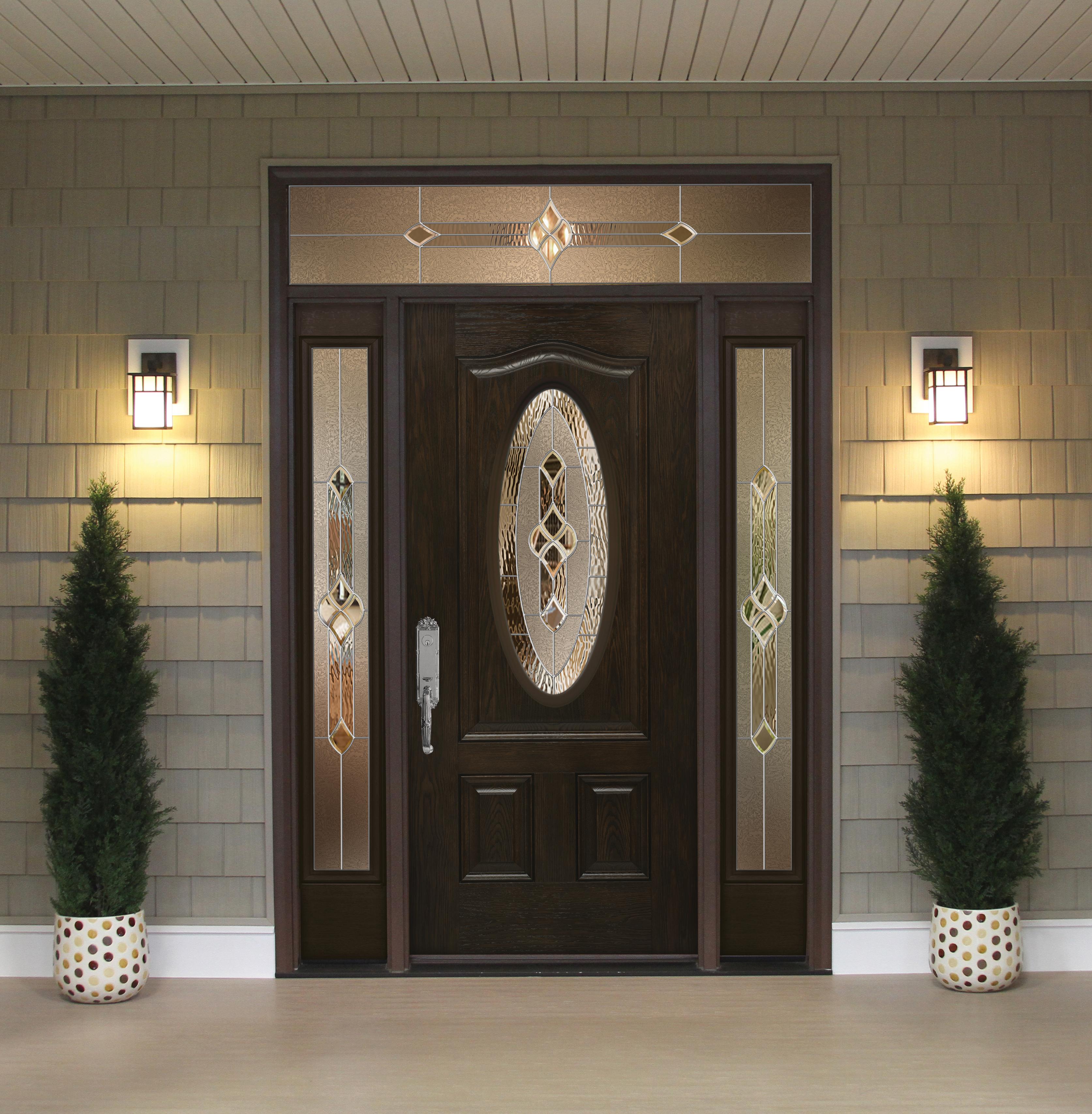 ProVia Signet Fiberglass Front Door from Brennan Enterprises in Dallas TX. & Hinged Doors Vs. Pivot Doors Review