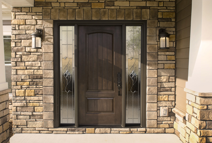 ProVia Embarq fiberglass entry door. Sold by Brennan Enterprises in Dallas.