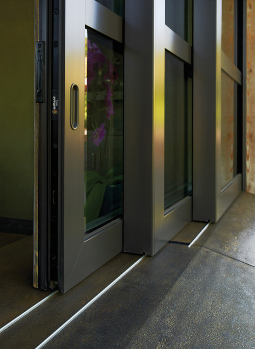 Photo of Weiland LiftSlide Patio Door track, Brennan Enterprises, Dallas, TX.