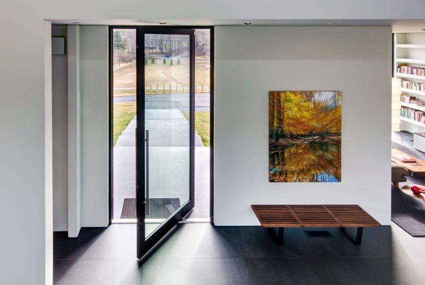 Example Photo Of A Pivot Door For Home Entry.