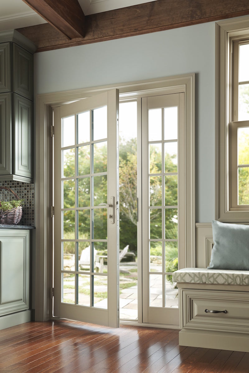 Captivating Milgard Inswing Patio Door.