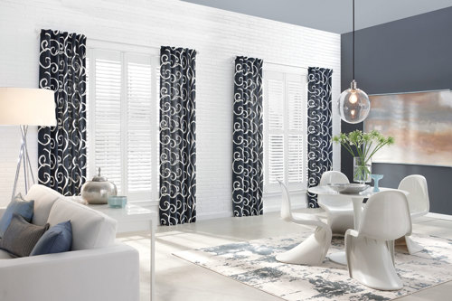 Drapes from Trinity Uptown Blinds