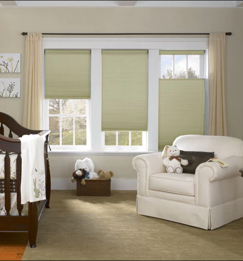 Cellular blinds from Blinds Galore