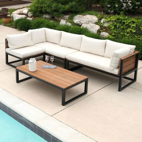 Natural 4-piece patio set from Pier 1 Imports