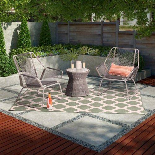 Carag 3-piece sling rope patio set from Target