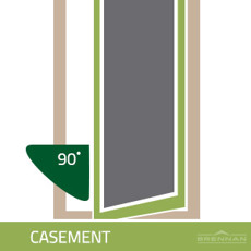 Casement window illustration
