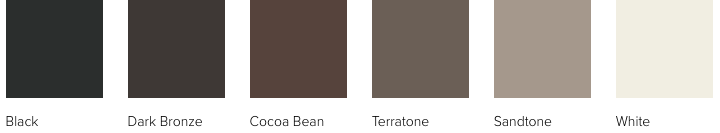 Andersen 100 Series exterior colors