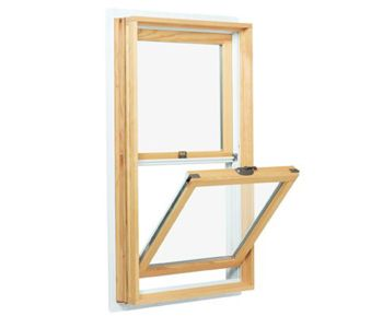 Andersen 200 Series Double-hung window with tilt sash.