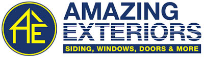 Logo of Amazing Exteriors home improvement company. Amazing Exteriors is has a strong reputation and is one of the best choices for homeowners looking for a siding replacement company near Allen, Texas.
