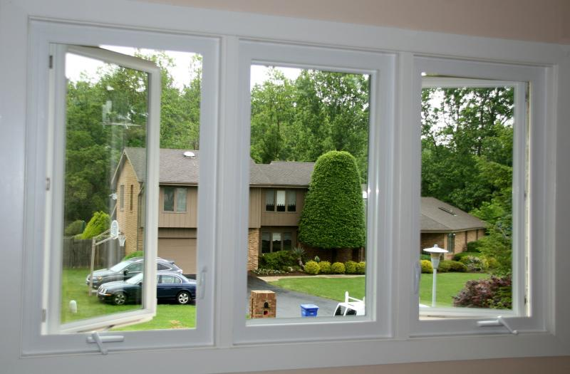 Casement windows are just one style of windows. These open outwards on a vertical hinge.