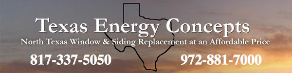 Texas Energy Concepts is an excellent option for siding replacement in North Texas.