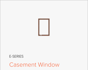 Image of Andersen E-Series Casement window, image from Andersen Windows and Doors.