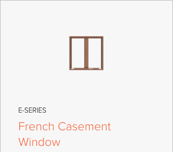Image of Andersen E-Series French Casement window, image from Andersen Windows and Doors.