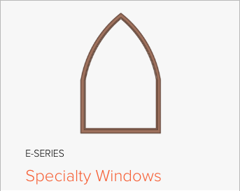 Image of Andersen E-Series Specialty window, image from Andersen Windows and Doors.