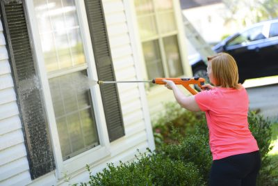 The best maintenance you can give your window is an annual wash.