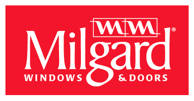 Logo for Milgard Windows and Doors. Milgard is a leading manufacturer of windows and doors.