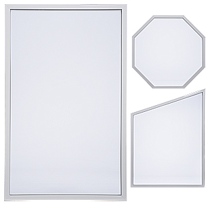 Milgard Style Line picture windows are available in many shapes.