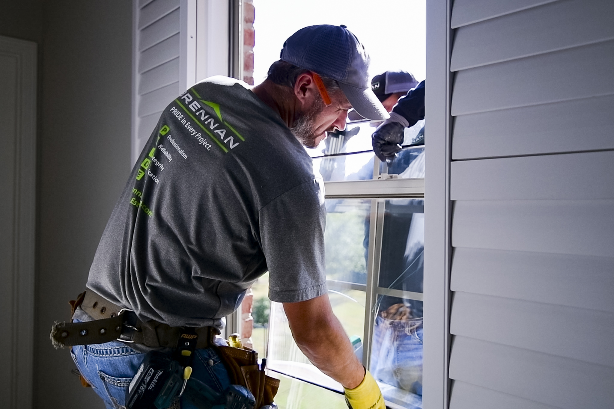 Brennan installed energy efficient windows