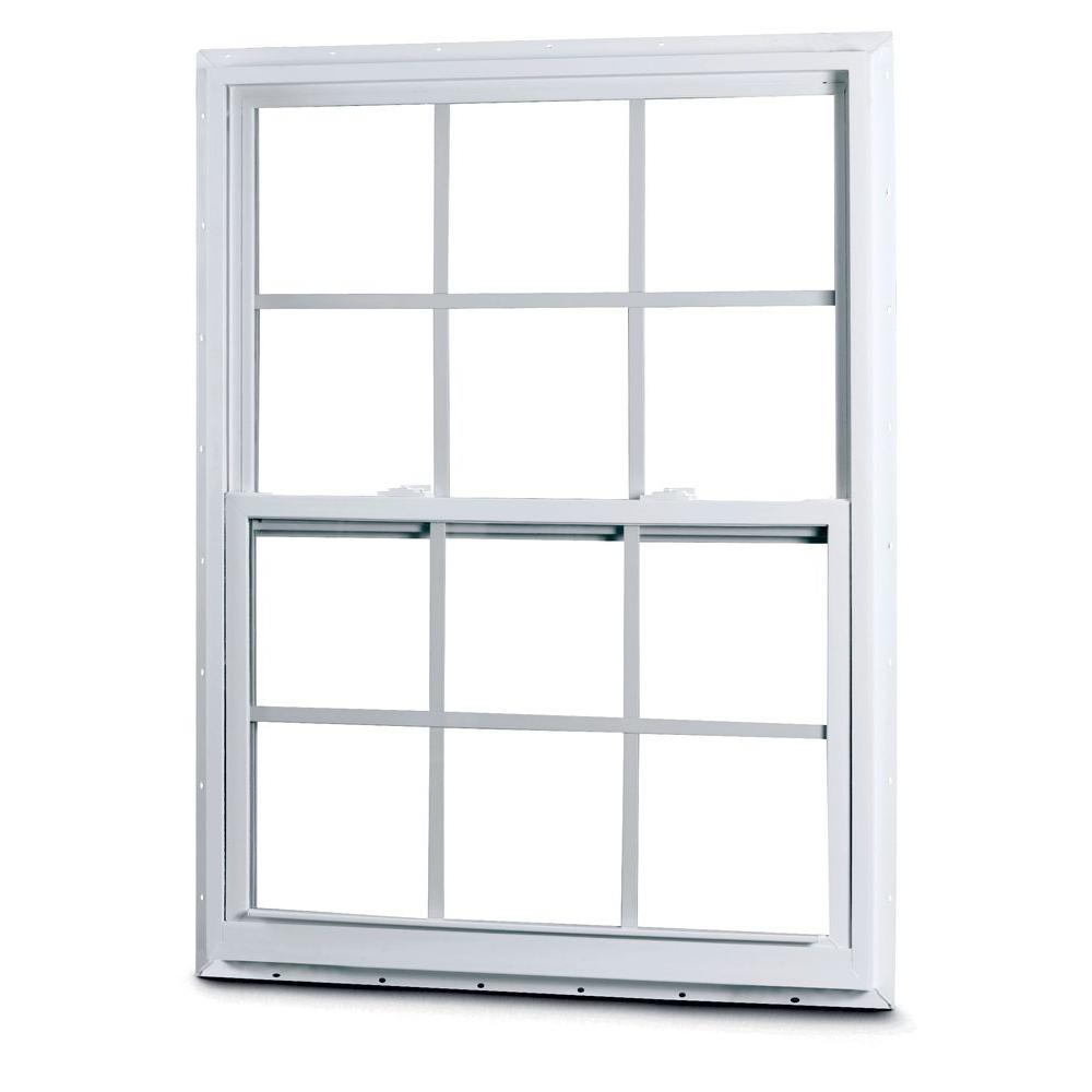 Egress windows refer to their safety function and double hung windows can qualify as an egress. Double hung egress windows may function better above grade and for bedroom.