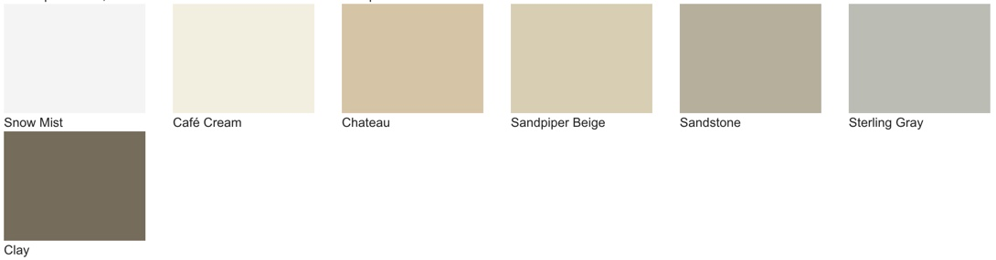 ProVia Signet fiberglass doors are available in 7 neutral colors for an understated front door.