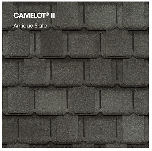 Camelot II swatch in Antique Slate