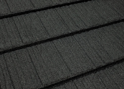 Texture of Tilcor Craftsman Shake in Black Iron